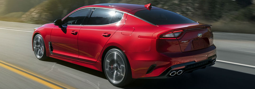 Top 6 Instagram Photos of the Kia Stinger that show off its sporty good looks