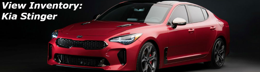Kia Stinger front and side profile