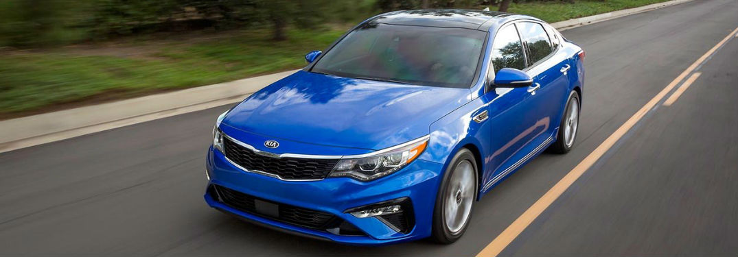 2019 Kia Optima shows off its sporty good looks on Instagram in 6 photos