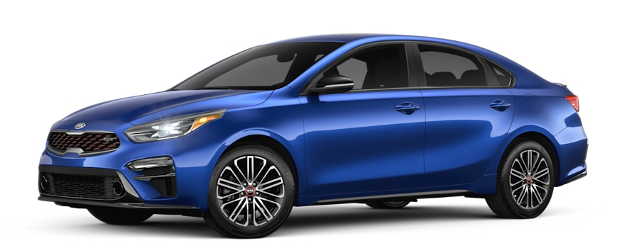 2020 Kia Forte Deep Sea Blue side view