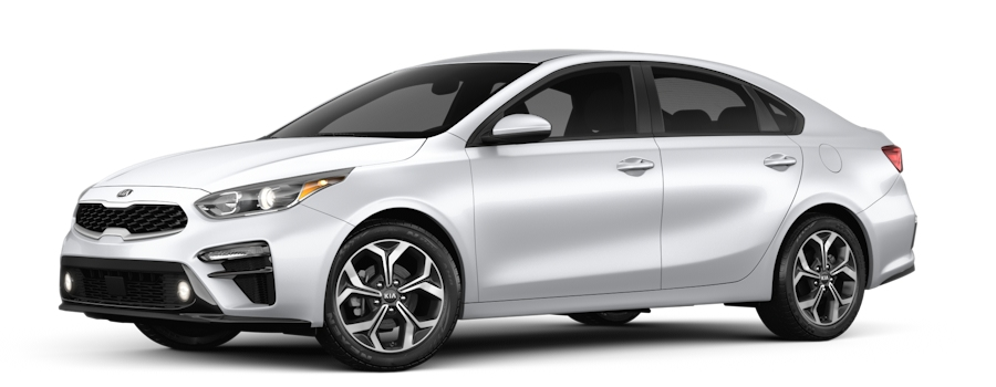 2020 Kia Forte Silky Silver side view