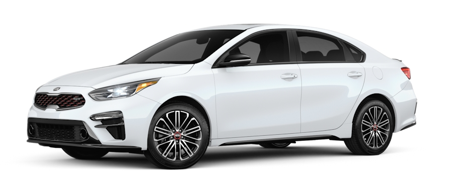2020 Kia Forte Snow White Pearl side view