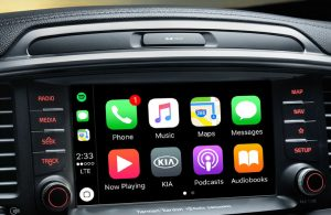 2020 Kia Sorento touchscreen display