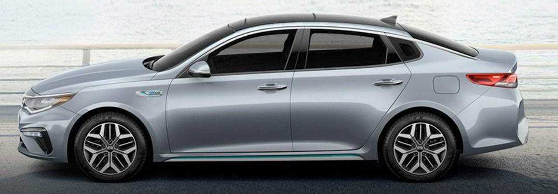 2020 Kia Optima side profile