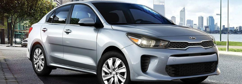 2020 Kia Rio front and side profile