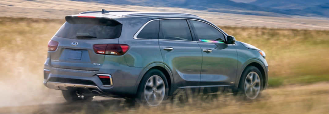 2020 Kia Sorento offers an interior with plenty of passenger and cargo space