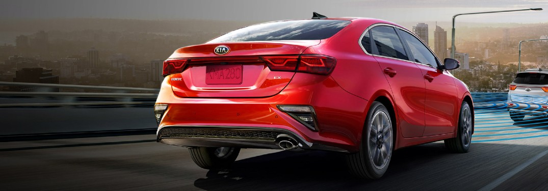 2020 Kia Forte offers top safety rating thanks to a long list of advanced driver-assist features