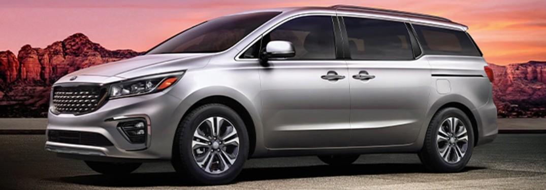 2021 Kia Sedona minivan is available in 5 exterior paint color options