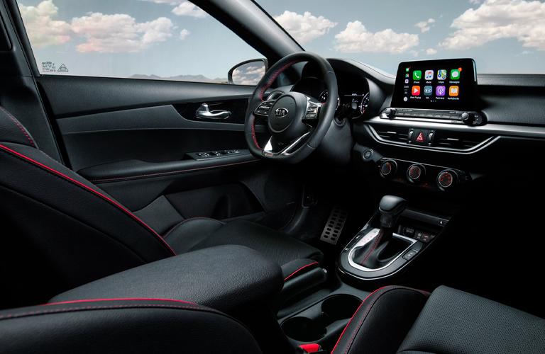 2021 Kia Forte front seats