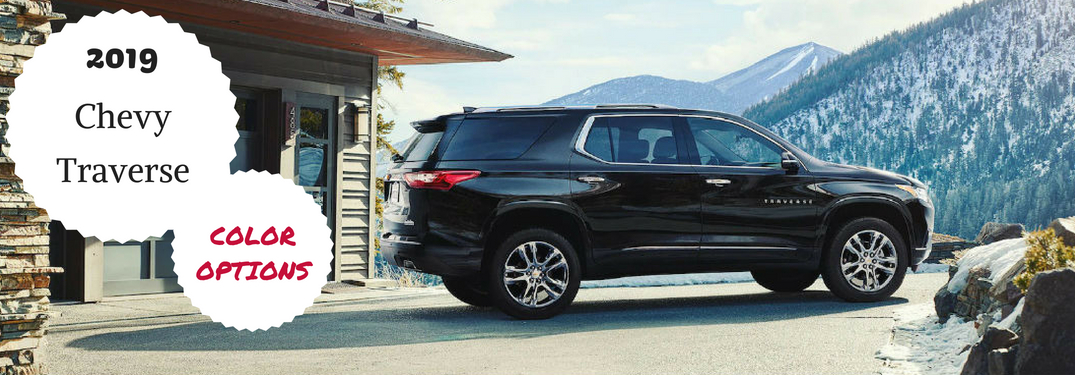 2019 Chevy Traverse Exterior Colors All About Chevrolet