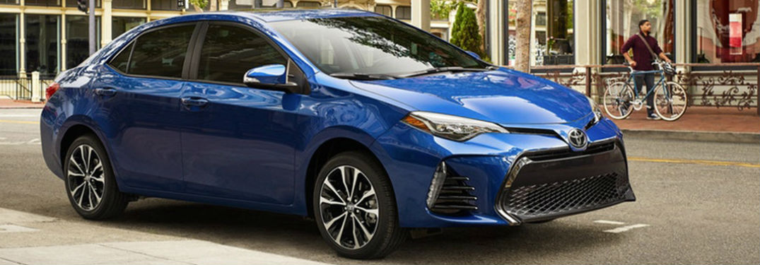2018 Toyota Corolla Available Exterior Paint Colors