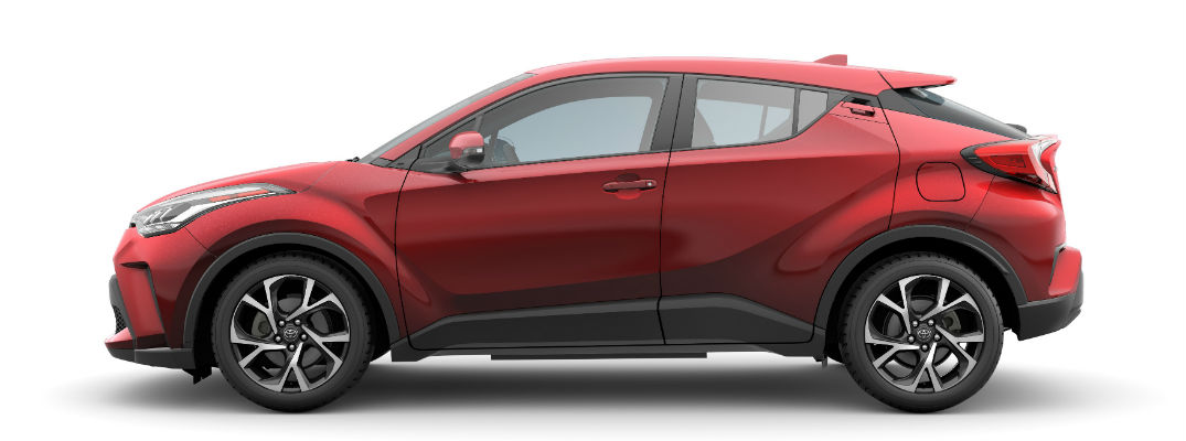 Side view of 2020 Toyota C-HR