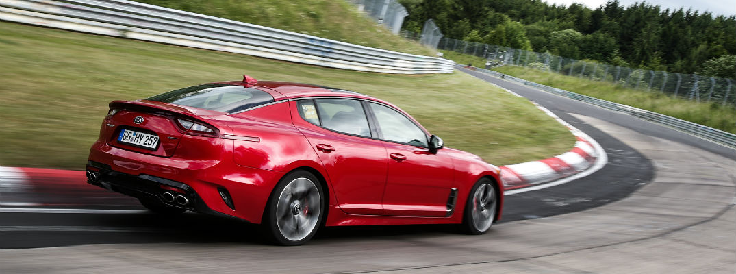 The 2019 Kia Stinger is more than just a pretty face; it's fast, too