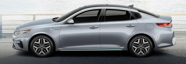 2020 Kia Optima in gray