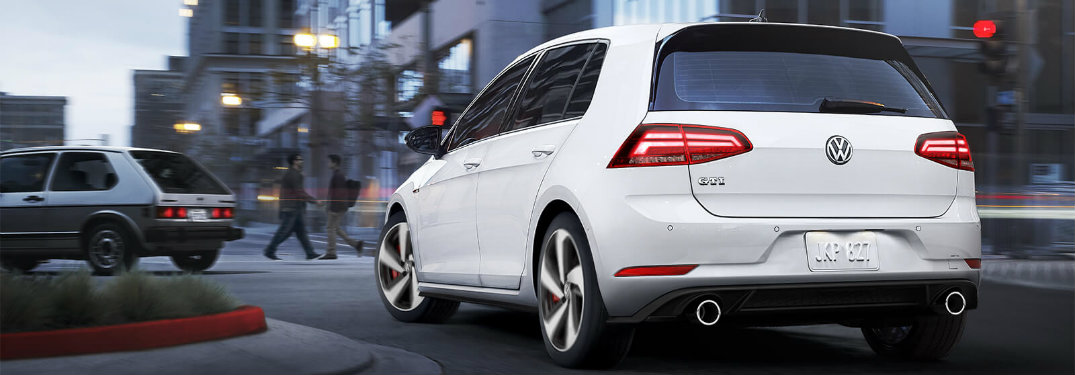 2018 Volkswagen Golf Gti S Standard Features