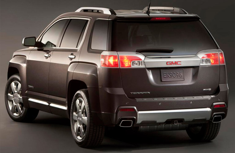 2014 GMC Terrain exterior rear view