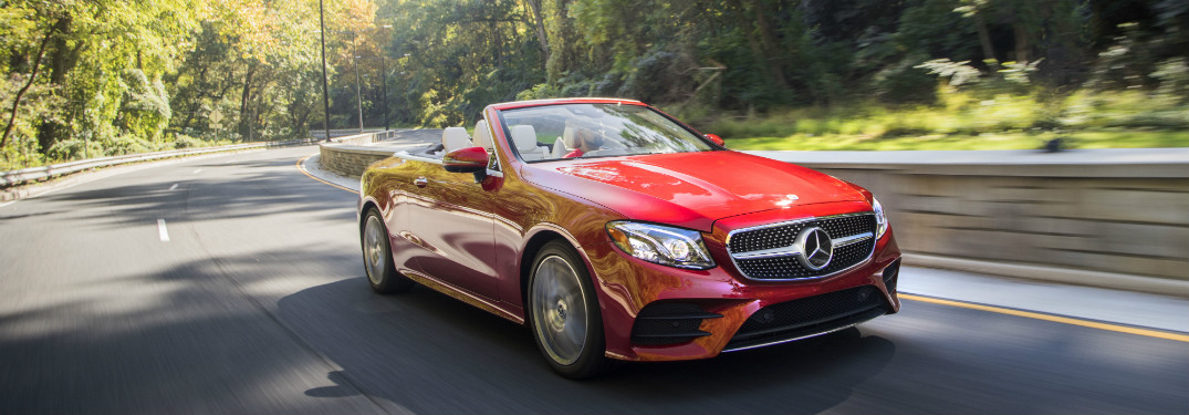 What 39 s new on the 2018 mercedes benz e class cabriolet for Mercedes benz roadside assistance telephone number