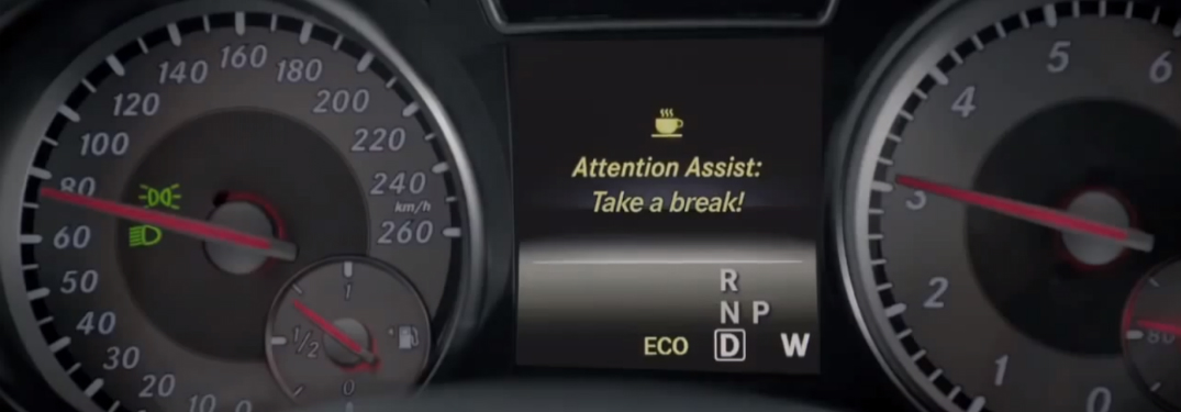 What Does The Coffee Cup Mean On The Mercedes Benz Instrument Cluster