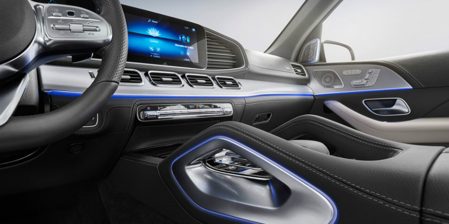 lighting trim in the 2020 mercedes-benz gle