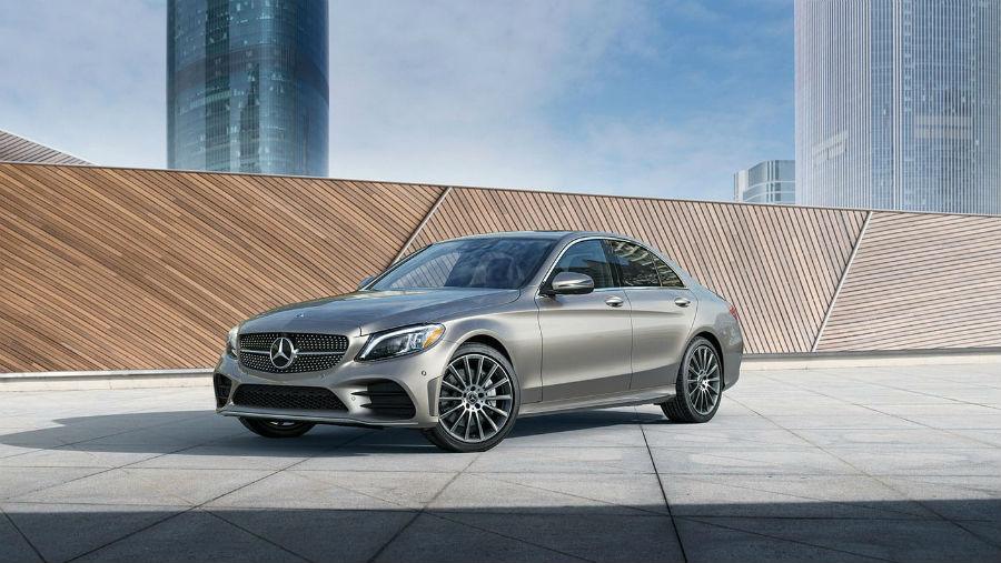 2020 Mercedes-Benz C-Class Sedan Exterior Driver Side Front Profile