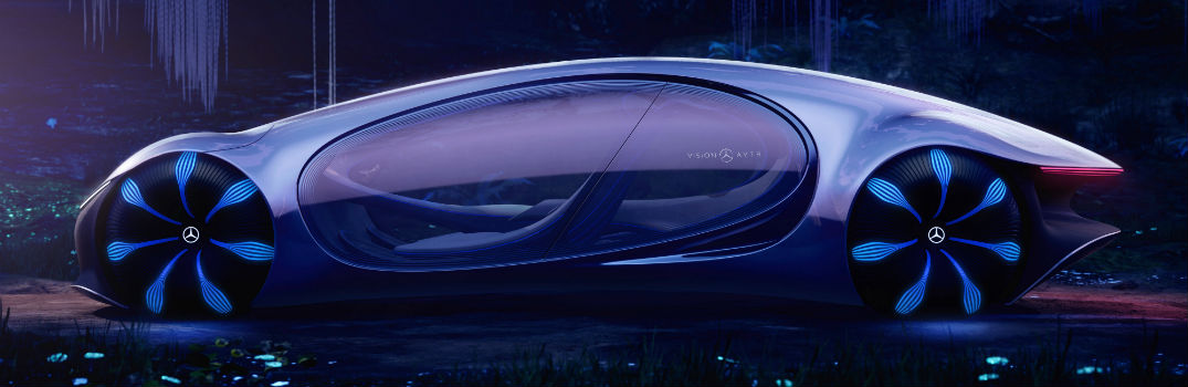 Mercedes-Benz VISION AVTR Concept Vehicle Exterior Driver Side Profile