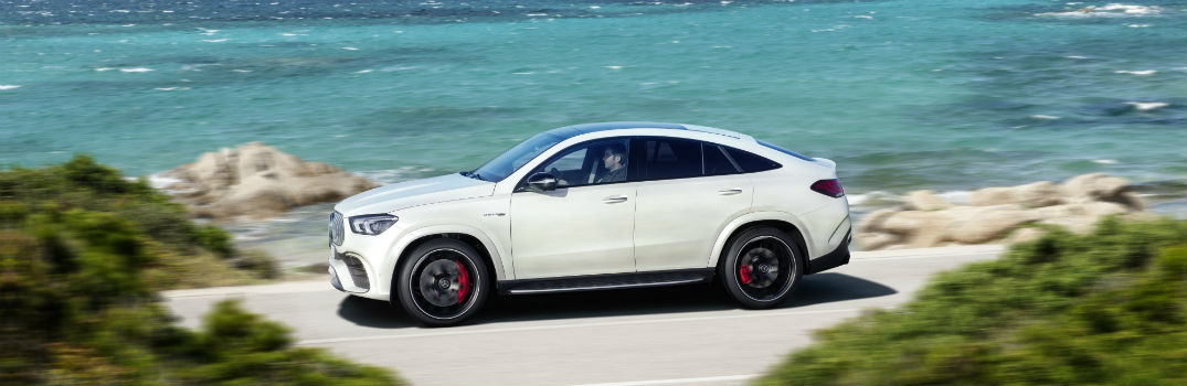 2021 Mercedes-AMG GLE 63 S Coupe Exterior Driver Side Front Profile