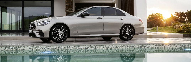 2021 Mercedes-Benz E-Class Sedan Exterior Driver Side Front Profile