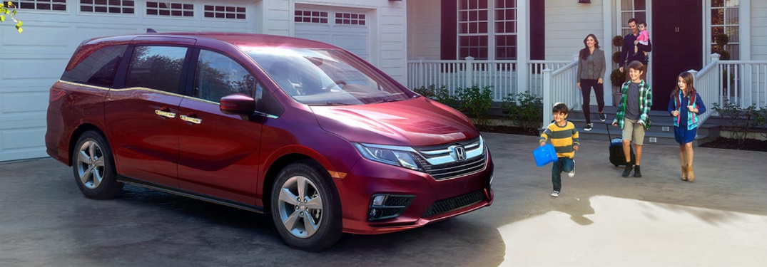 The Odyssey Minivan Is Designed For Families Like No Other