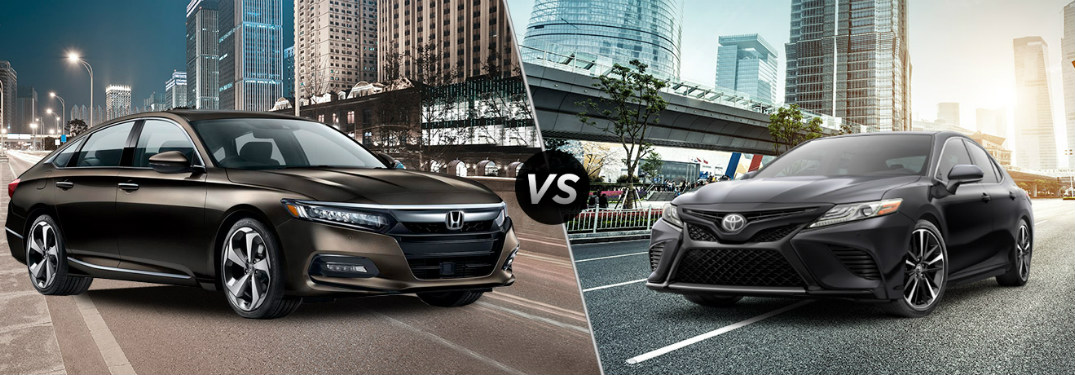 2018 honda accord touring 2 0t vs 2018 toyota camry xse v6 for Honda accord vs toyota camry 2017