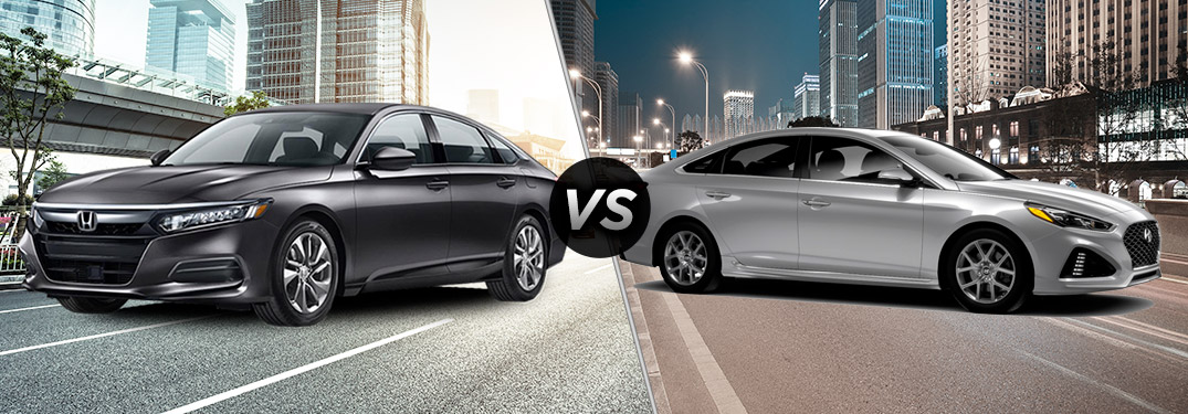 2018 Honda Accord vs 2018 Hyundai Sonata