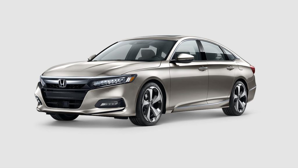 2018 Honda Accord in champagne frost paint color