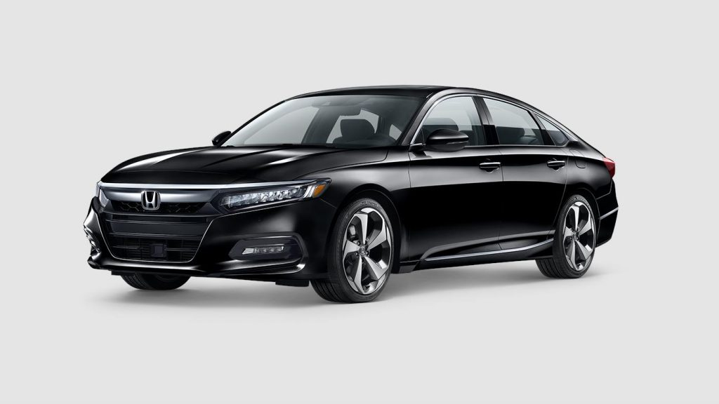 2018 Honda Accord in crystal black paint color