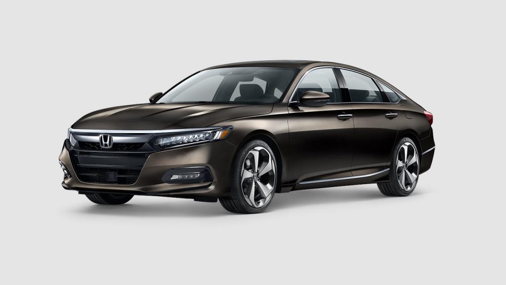 2018 Honda Accord in kona coffee metallic paint color
