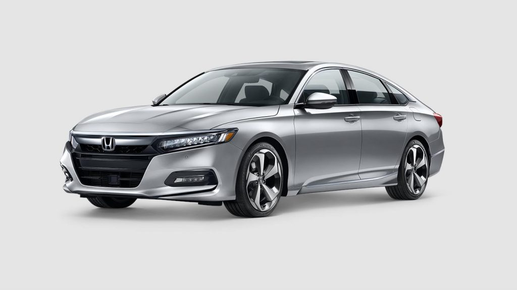 2018 Honda Accord in lunar silver paint color