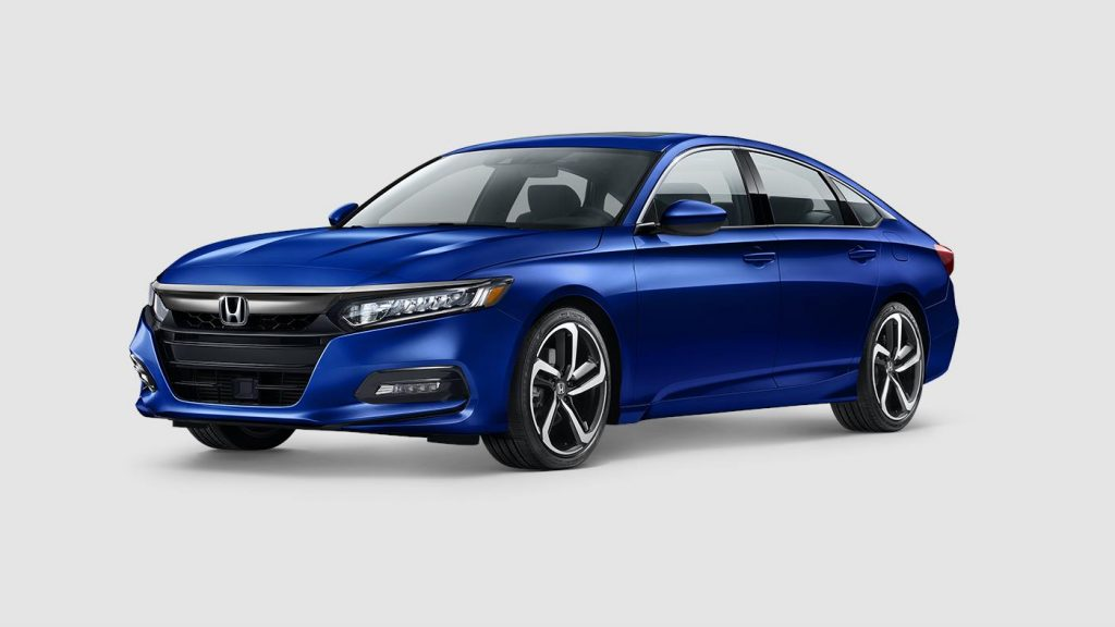 2018 Honda Accord in Still Night blue paint color