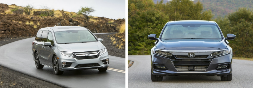 U.S. News & World Report names 2019 Honda Odyssey and 2019 Honda Accord Best Family Vehicles