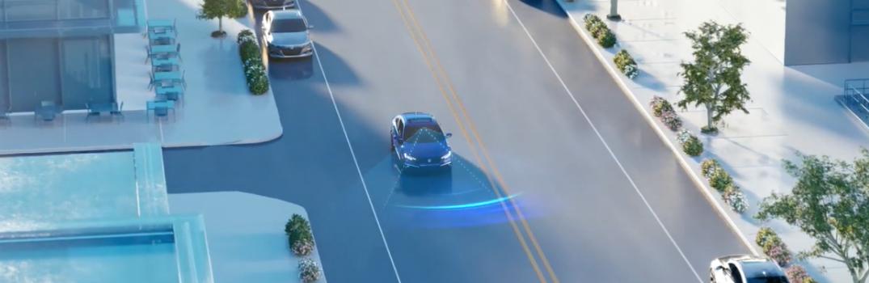 2019 Honda Civic Sedan Collision Mitigation Braking System Simulation