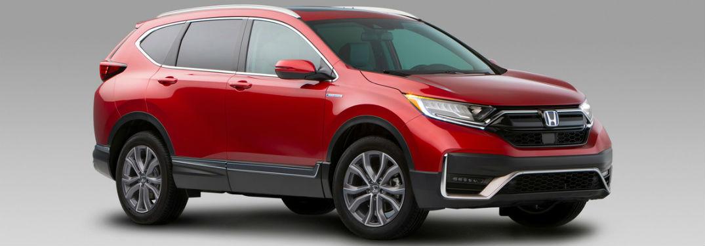 2020 Honda CR-V Hybrid Exterior Passenger Side Front Profile