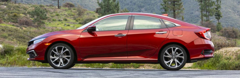2019 Honda Civic Sedan Touring Exterior Driver Side Profile