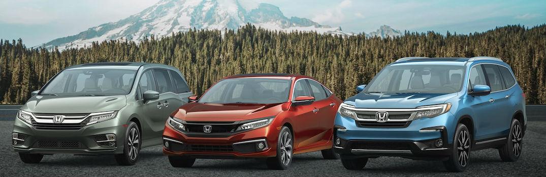 2020 Honda Lineup Fuel Economy Ratings