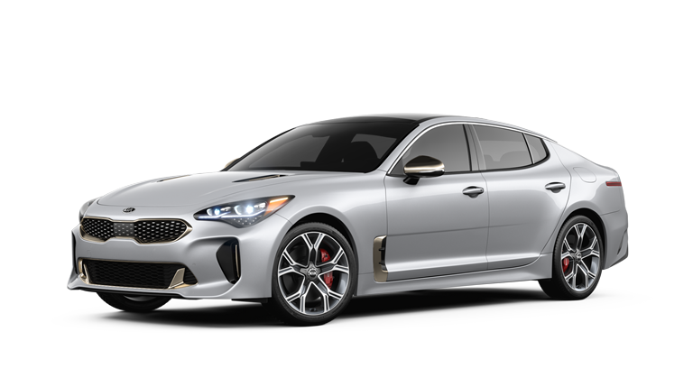 2018 Kia Stinger in Silky Silver paint color