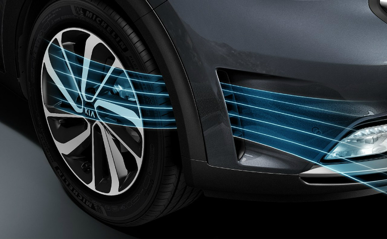 Kia Niro aerodynamic design