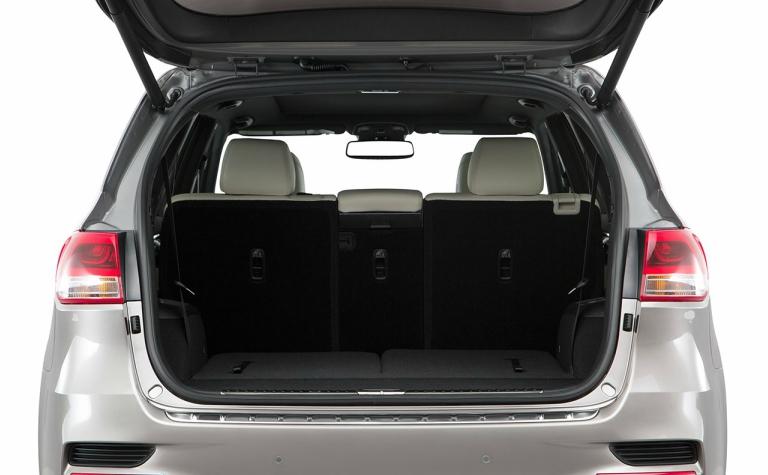 2018 Kia Sorento cargo space