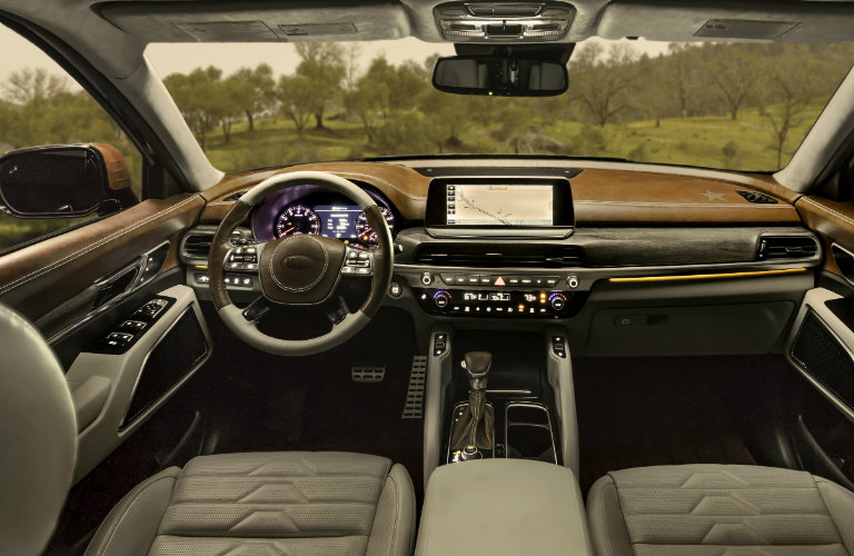 2020 kia telluride u s release date and preview texas model for Texas leather interiors prices