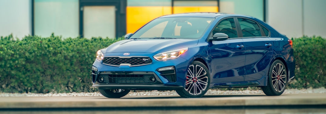 side view of a 2020 Kia Forte GT