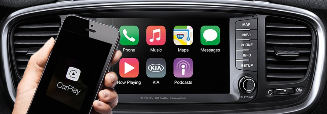 Which 2019 Kia Models Have Apple Carplay Android Auto