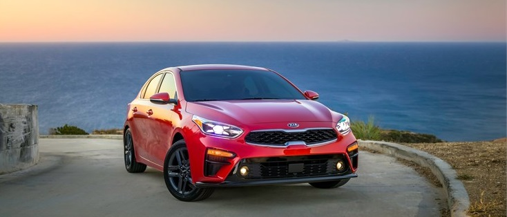 2019 Kia Forte Gas Mileage Outside by ocean