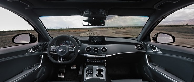 2020 Stinger GTS Interior with Sport Kia Driving Mode