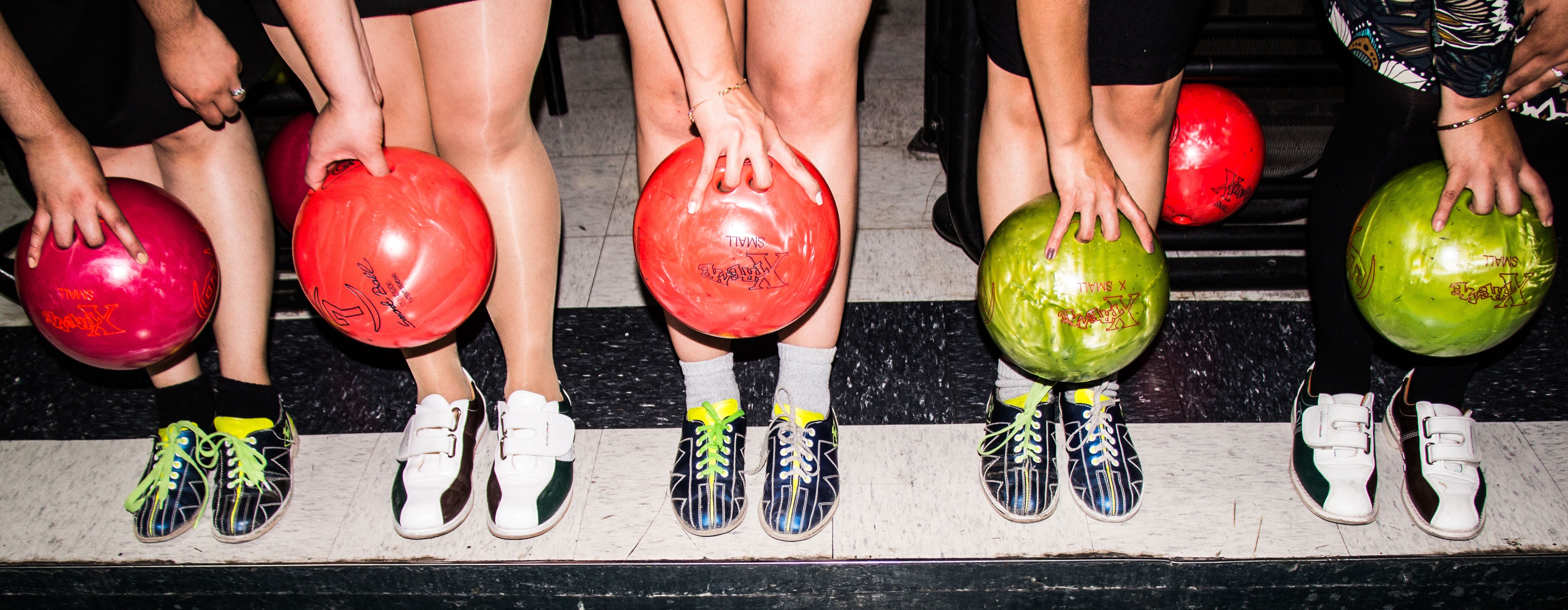 Indoor family Activity: Family bowling