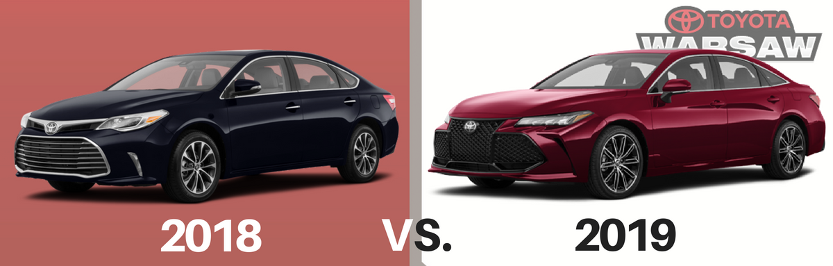 2018 vs. 2019 Toyota Avalon: What Has Changed?
